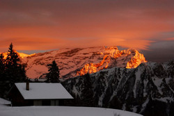 Les Diablerets Sunset