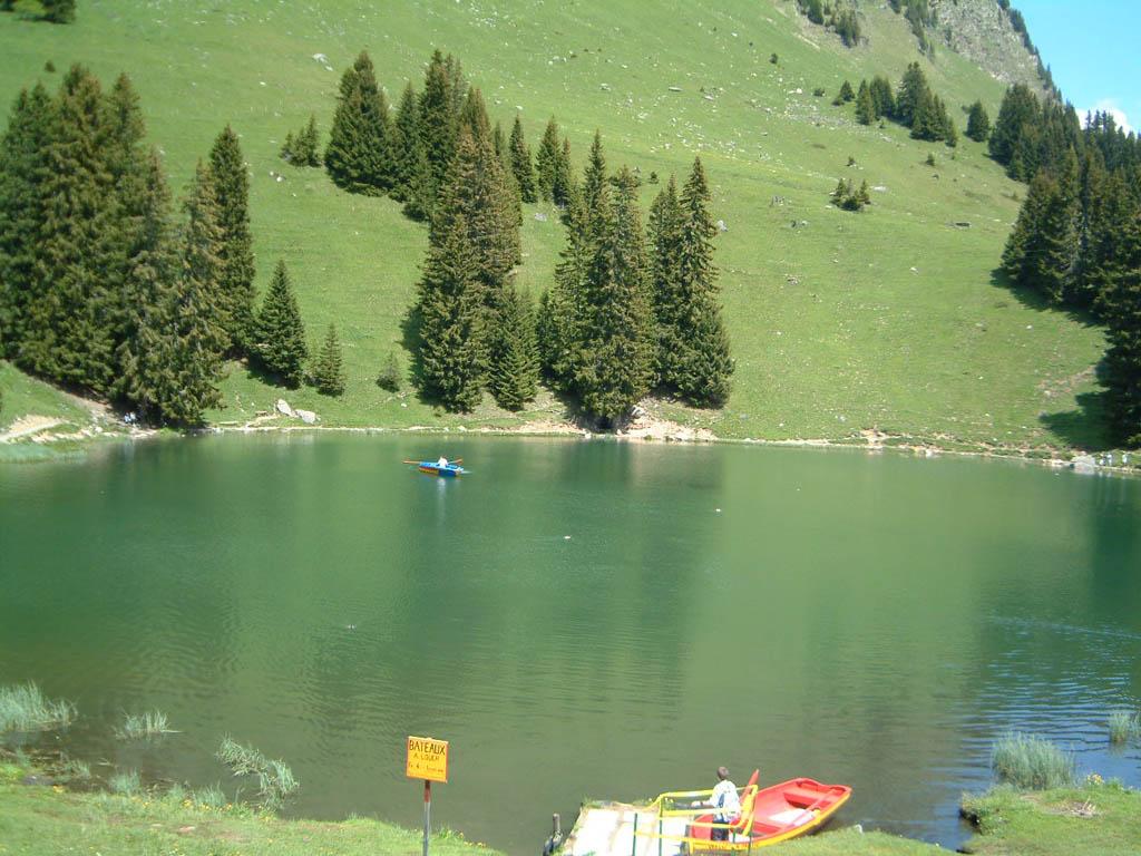 Lac  Retaud in Summer