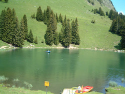 Lac  Retaud in Summer