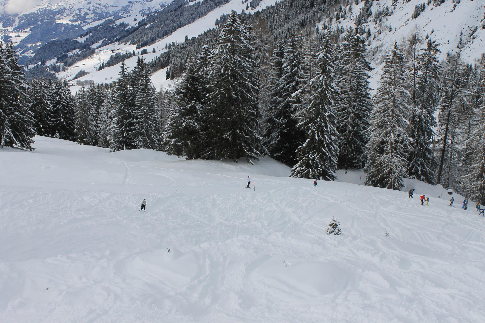 Skiing on Meilleret