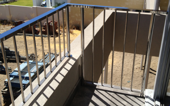 stainless vertical balustrade