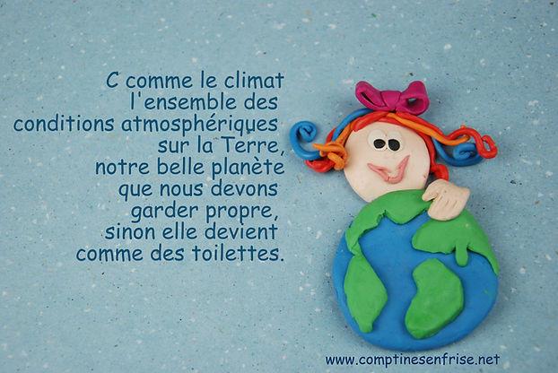 Climat - Comptines en Frise