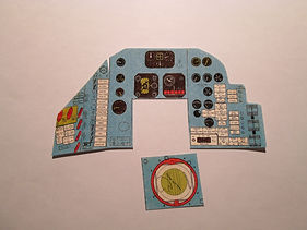 GI Joe Space Capsule Cockpit Sticker Set