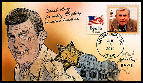 ANDY GRIFFITH ARTIST'S PROOF