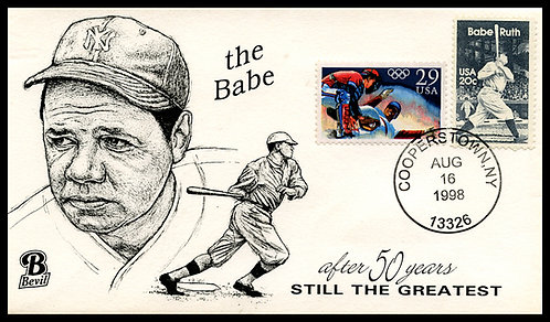 BABE RUTH UNPAINTED