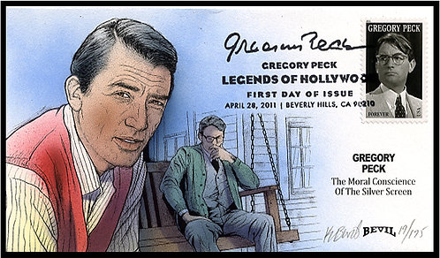 GREGORY PECK FDC