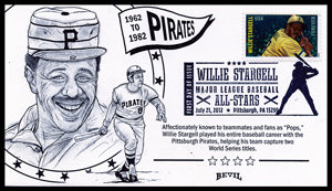 WILLIE STARGELL UNPAINTED