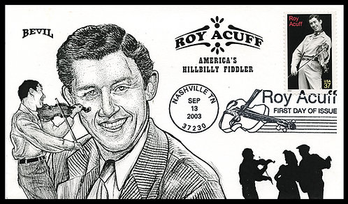 ROY ACUFF UNPAINTED