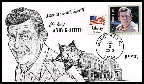 ANDY GRIFFITH UNPAINTED