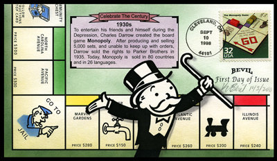 CTC MONOPOLY GAME 1930s