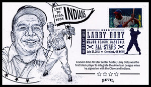 LARRY DOBY UNPAINTED