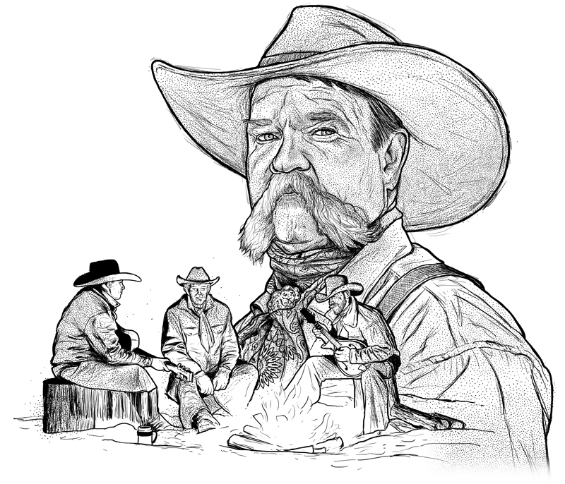 PAUL BLISS AND THE COWBOY POETS