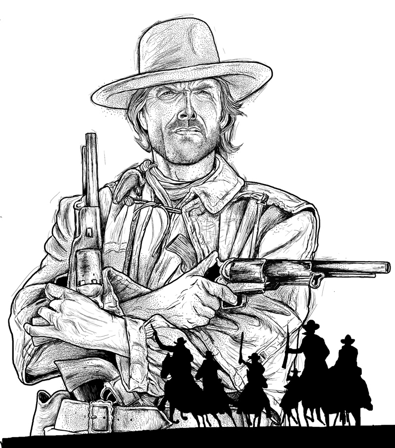 CLINT EASTWOOD-JOSEY WALES OUTLAW