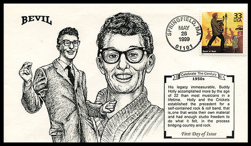 BUDDY HOLLY UNPAINTED