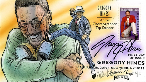 GREGORY HINES ARTIST'S PROOF