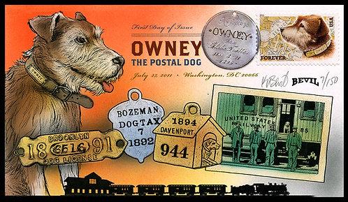 OWNEY THE POSTAL DOG