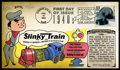 CTC SLINKY CRAZE BEGINS 1940s