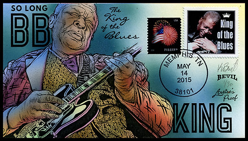 B.B. KING ARTIST'S PROOF