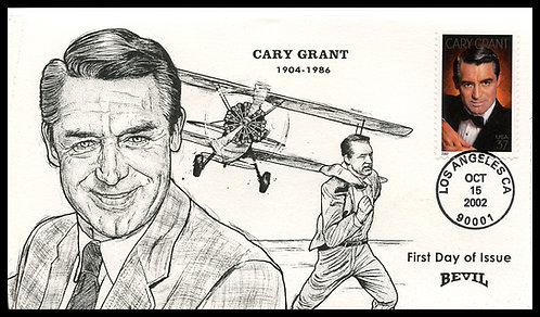 CARY GRANT UNPAINTED