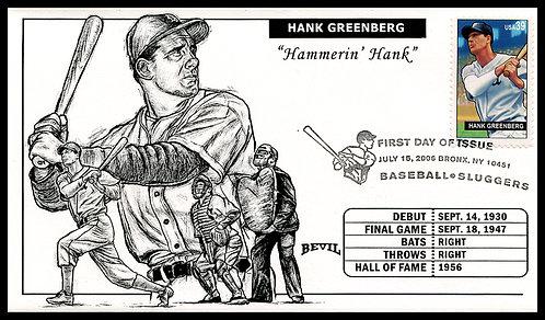 HANK GREENBERG UNPAINTED