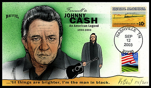 JOHNNY CASH SO LONG