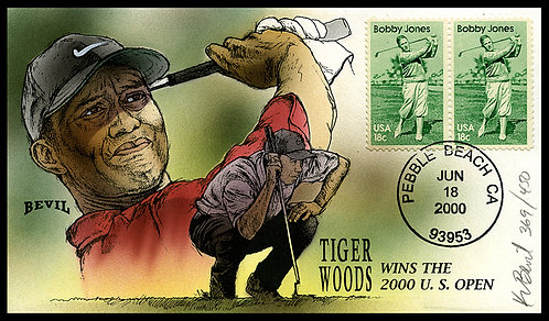 TIGER WOODS 2000 US OPEN