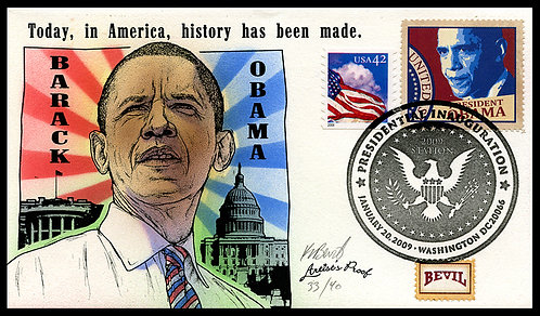 OBAMA ARTISTS PROOF