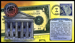 CTC FEDERAL RESERVE SYSTEM 1910s