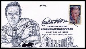 CHARLTON HESTON UNPAINTED