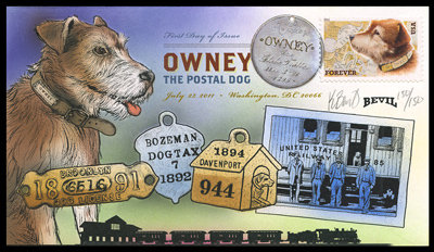 OWNEY THE POSTAL DOG 4