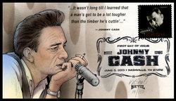JOHNNY CASH FDC