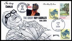 UNPAINTED RAY CHARLES