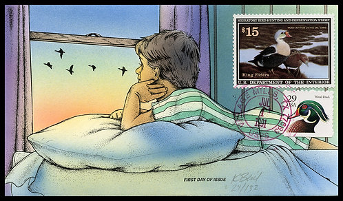 1991 DUCK STAMP