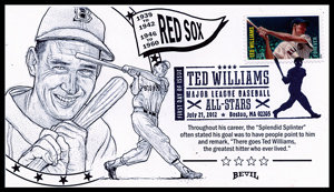 TED WILLIAMS UNPAINTED