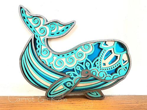 Mandala Whale
