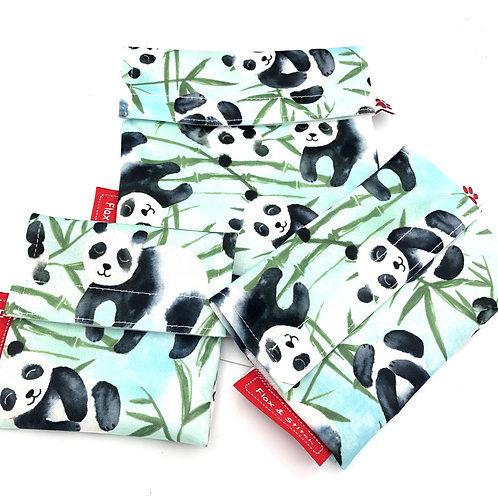 Flaxie Lunch Bag Panda