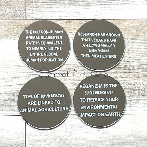 Coasters Vegan Facts