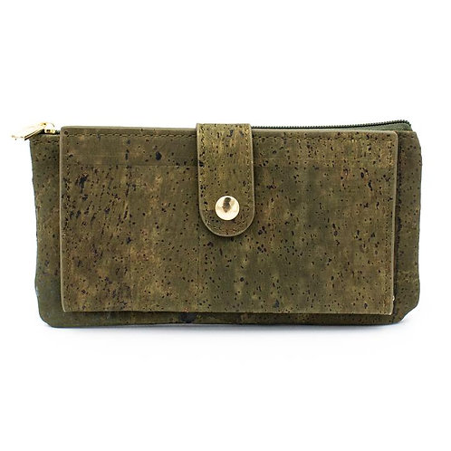 Slim Wallet Olive Green