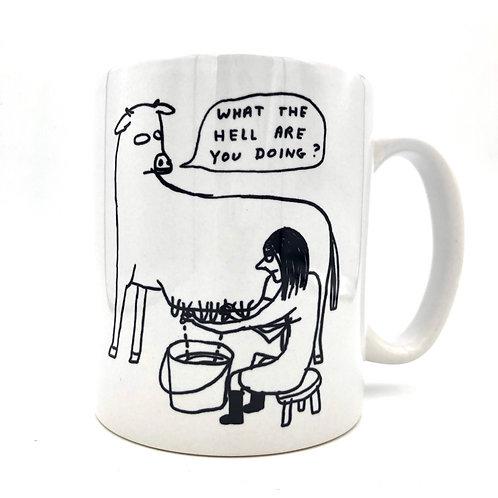 Mug Cow David Shrigly