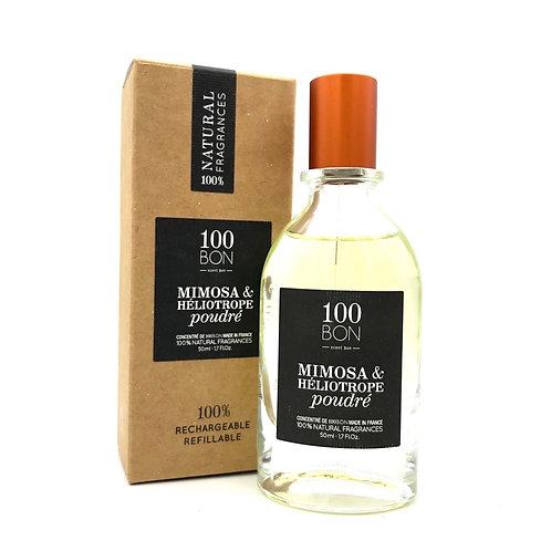 100BON Mimosa et Heliotrope Poudre