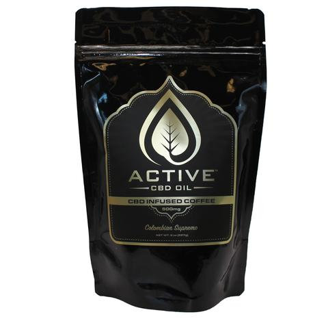 Active CBD Oil - CBD Infused Coffee