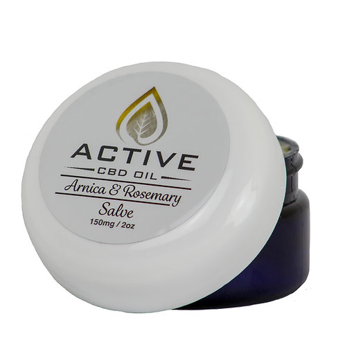 Active CBD Oil Salve 150mgs - 1100mgs