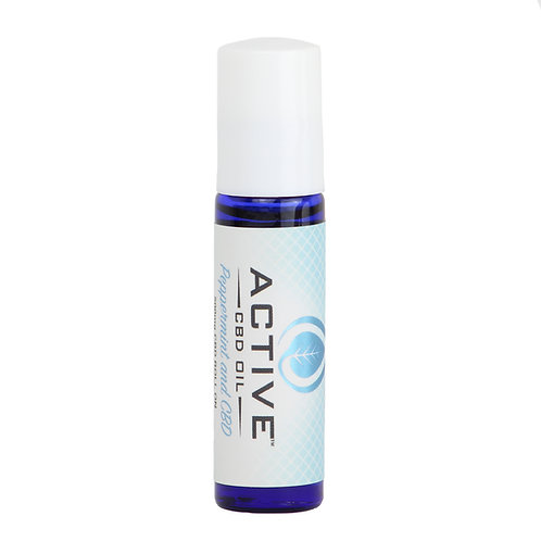 Active CBD oil Roll on - 500mg (peppermint)