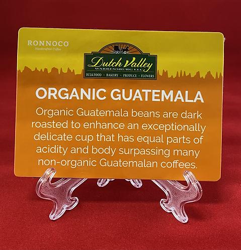 Organic Guatemala Coffee
