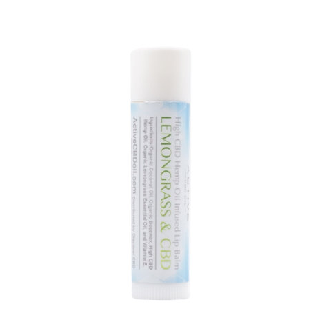 Active CBD oil Infused Lip Balm - Multiple Flavors