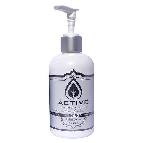 Active CBD Oil Lotion - 1100mg