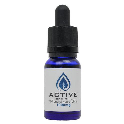 Active CBD oil E-Liquid additive - 1000mgs