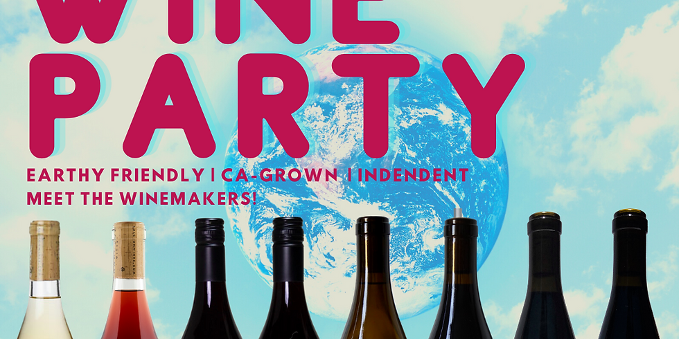 Earth Day Winemaker Tasting Party