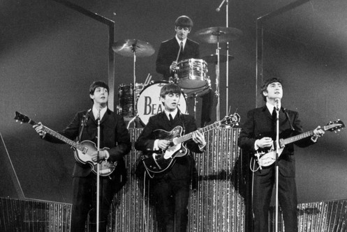 The Beatles Band in B&WCelebrity Famous People Photography