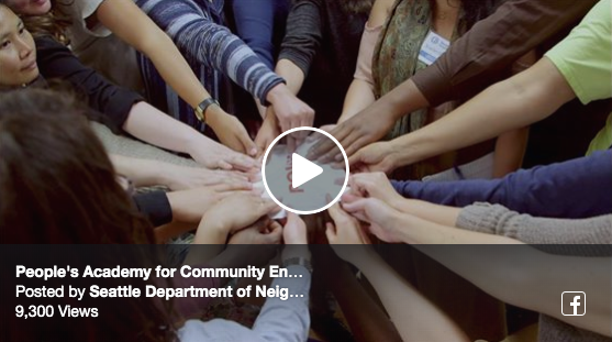 Peoples academy for community video link